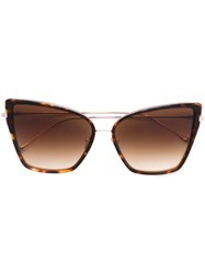 Dita Eyewear 'Sunbird' Sunglasses Brown