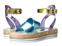 Love Moschino Shiny Espadrille Sandal Multi Women's Sandals