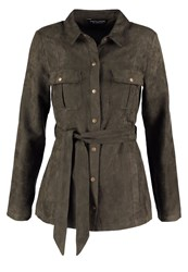 Dorothy Perkins Safari Summer Jacket Green Khaki