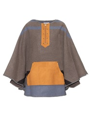 Kolor Wool And Cashmere Blend Cape
