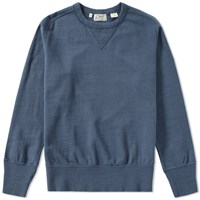 Levi's Vintage Clothing Bay Meadows Crew Sweat Blue