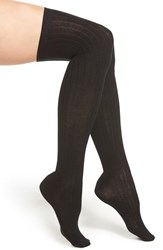 Women's Hue Marled Rib Knit Over The Knee Socks