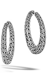 John Hardy Women's Classic Chain Small Hinge Hoop Earrings