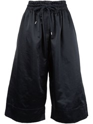 Vivienne Westwood Anglomania Drawstring Waist Cropped Culottes Black