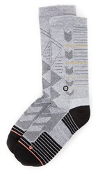 Stance Saxon Athleisure Socks White