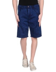 Closed Bermudas Dark Blue