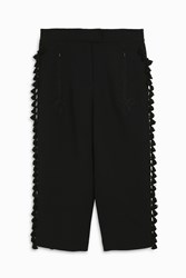 Andrew Gn Pom Pom Cusac Trousers Black