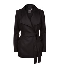 Ted Baker Elethea Short Wrap Coat Female Black