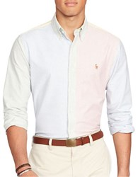 Polo Ralph Lauren Slim Fit Gingham Stretch Oxford Shirt Multi Color