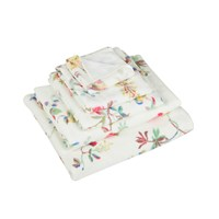 Cath Kidston Birds And Roses Towel Chalk Bath Sheet