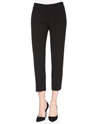Alice Olivia Stacey Slim Cropped Trousers