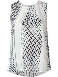 Lala Berlin Printed Sleeveless Top Multicolour