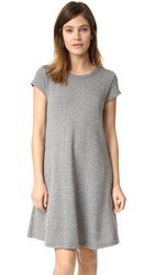 Current Elliott The Beach Tee Dress Heather Grey