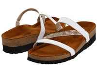 Naot Footwear Hawaii White Leather Women's Sandals