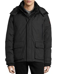 Strellson Storm Crasher Waterproof Puffer Jacket Black