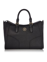 Tommy Hilfiger Miss Black Satchel Bag Black
