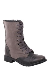 Wanted Forge Lace Up Boot Black