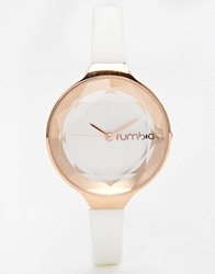 Rumba Time Rumbatime Orchard Mini Gem Watch White Crystal