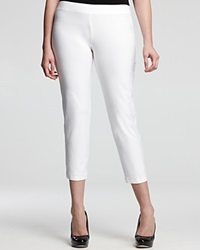 Eileen Fisher Plus Slim Ankle Pants White
