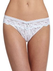 Hanky Panky Annabelle Original Rise Lace Bridal Thong