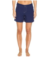 Tommy Bahama Solid 5 Boardshort Mare Navy Women's Swimwear