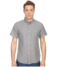 Billy Reid Short Sleeve Tuscumbia Shirt Grey