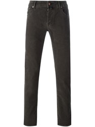 Jacob Cohen Five Pocket Trousers Brown