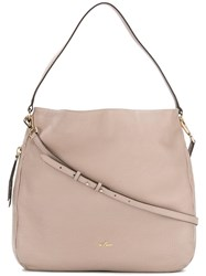 Hogan Hobo Shoulder Bag Nude Neutrals