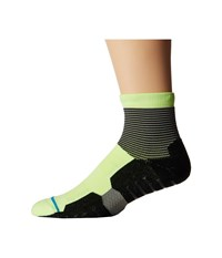 Stance Scratch Quarter Lime Men's Quarter Length Socks Shoes Green