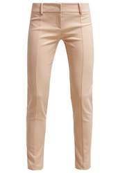 Patrizia Pepe Trousers Beige Light Brown