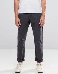 Esprit Chinos In Regular Fit In Grey Dark Grey