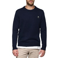 Wood Wood Navy Yale Sweatshirt Blue