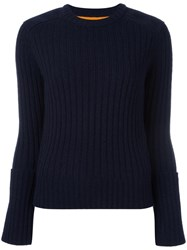 Paul Smith Ps By Round Neck Jumper Blue