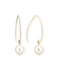 Freshwater Pearl Fish Hook Earrings Linda Bergman