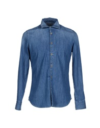Jacob Cohen Jacob Coh N Denim Shirts Blue