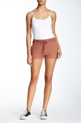Harlowe And Graham Brushed Fleece Short Petite Metallic