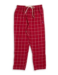 Original Penguin Flannel Pajama Pants Red