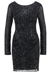Lace And Beads Brooklyn Cocktail Dress Party Dress Navy Dark Blue