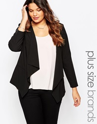 New Look Inspire Waterfall Blazer Black