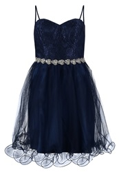 Laona Cocktail Dress Party Dress Nautical Blue Dark Blue