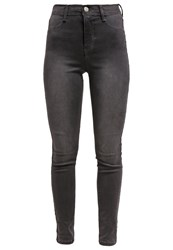 Dorothy Perkins Frankie Slim Fit Jeans Grey Dark Gray