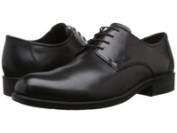 Ecco Harold Plain Toe Tie Black Men's Plain Toe Shoes