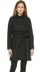 Just Female Norma Coat Black