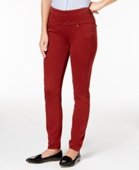 Spanx Denim Leggings Brick