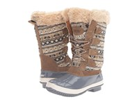 Khombu Andie Grey Women's Boots Gray