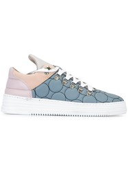 Filling Pieces 'Mountain Cut' Sneakers Blue
