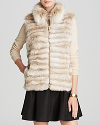 Maximilian Lynx Fur Vest With Stand Collar Bloomingdale's Exclusive