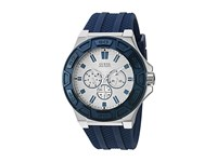 Guess U0674g4 Blue Silver Watches Navy