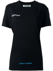 Off White 'Chateau' T Shirt Black