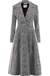 Roksanda Ilincic Farleight Boucle Tweed Coat Black